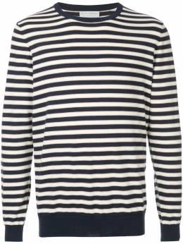 Gieves & Hawkes полосатый свитер по фигуре G3767ER09038