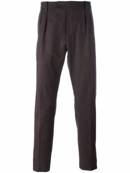 Al Duca D'Aosta 1902 брюки строгого кроя со складками PANT07C