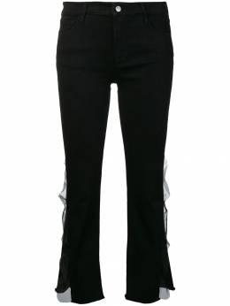 J Brand укороченные джинсы 'Selena' средней посадки JB001656