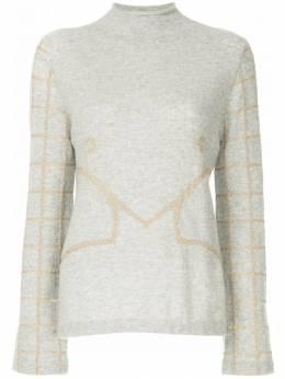Onefifteen свитер с вышивкой ANW02
