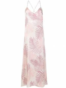 Gilda & Pearl длинная сорочка 'Kew' 1641KEWORCHID