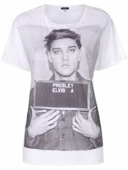 R13 футболка-оверсайз 'Elvis' R13W357404