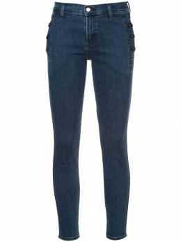 J Brand джинсы скинни с пуговицами JB000796