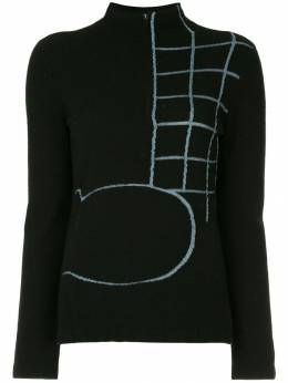 Onefifteen свитер с вышивкой ANW05