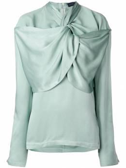 Eudon Choi блузка со сборками EC8AT005