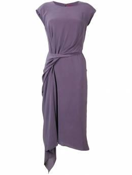 Sies Marjan платье миди с драпировкой 9SC504214MMCDC