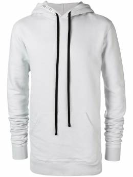 Unravel Project rear logo hoodie UMBB001F18209005