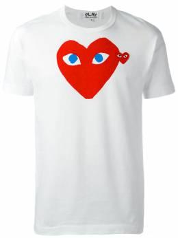 Comme Des Garcons Play футболка с принтом-логотипом P1T086