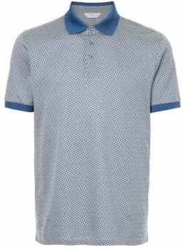 Gieves & Hawkes printed polo shirt G37H9ER07033