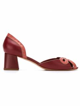 Sarah Chofakian leather pumps VEGETALGR40FORR