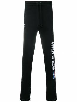 Marcelo Burlon County Of Milan спортивные брюки 'NBA' CMCH008F186731171088