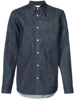 Calvin Klein 205W39nyc джинсовая рубашка 81MWTA56C155