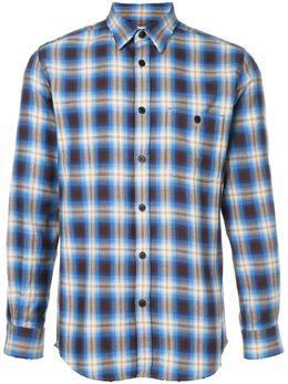 Kent & Curwen рубашка в клетку K3665EM01093