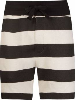 Osklen striped shorts 40516