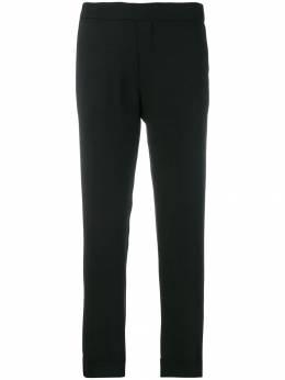 P.a.r.o.s.h. укороченные брюки с эластичной талией D230162XPIRATY
