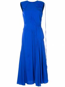 Ellery асимметричное платье 'Oblivion' 8SD526DGBLU