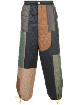 Mostly Heard Rarely Seen брюки в стиле колор блок MH08AGB01