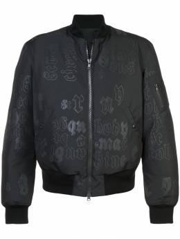 Yang Li куртка-бомбер с принтом 'KTC collaboration' H5135KT1209