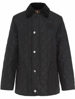 Burberry стеганая в ромб куртка с терморегуляцией 8003278