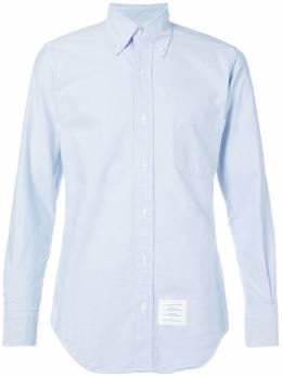 Thom Browne рубашка с воротником на пуговицах MWL001A00139