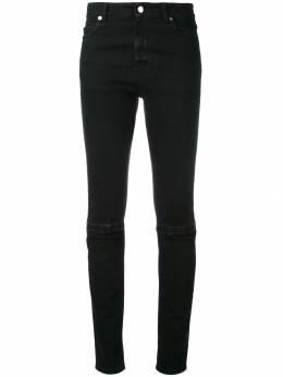 Christopher Kane узкие джинсы с липучками 490736UFD03