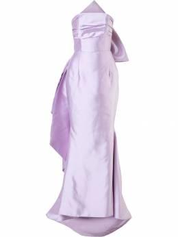 Bambah вечернее платье с бантом F17LV001