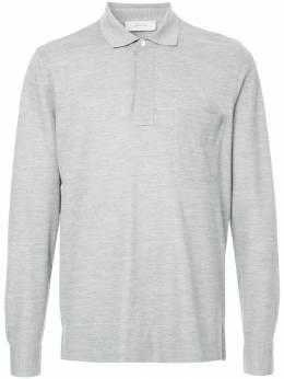 Cerruti 1881 рубашка-поло с длинными рукавами C37H8EI02091