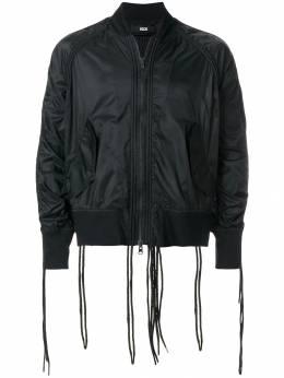 Ktz куртка-бомбер с декоративными шнурками SS18JK37A