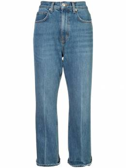 Proenza Schouler укороченные расклешенные джинсы 'PSWL' WL181997DC012