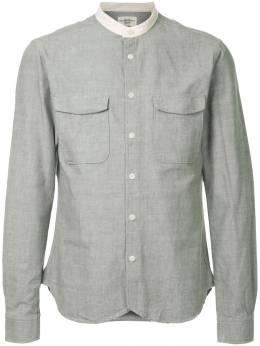 Kent & Curwen рубашка с воротником-мандарин K3665EM440