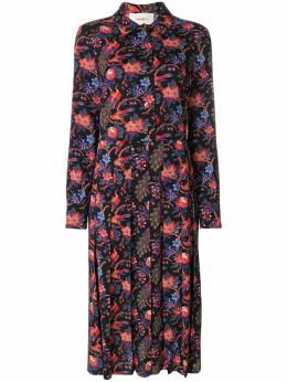 La Doublej платье-рубашка 'Pavone Nero' DRE025VIS001PAV0001