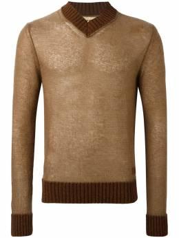 Al Duca D'Aosta 1902 свитер с V-образным вырезом VE104A