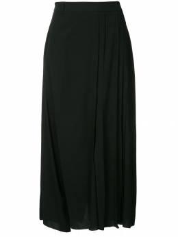 Masnada брюки с высокой талией с необработанными краями 6429