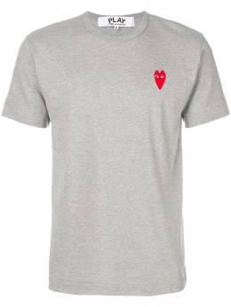 Comme Des Garcons Play футболка с принтом логотипа P1T230