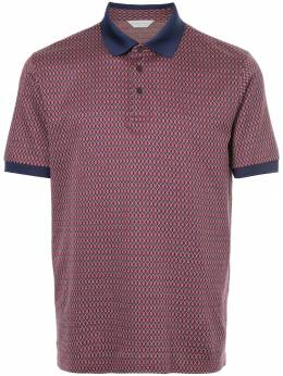 Gieves & Hawkes patterned polo shirt G37H9ER06076