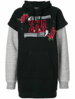 Dsquared2 Twin Guns print hoodie S75GU0159S25030