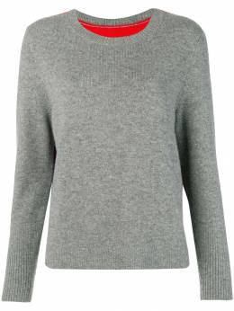 Chinti And Parker contrast back panel sweater KE19GFN
