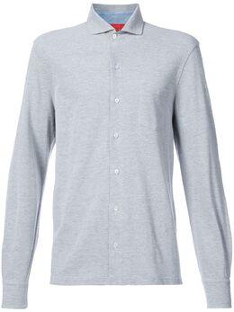 Isaia рубашка с застежкой на пуговицы спереди MCJ165
