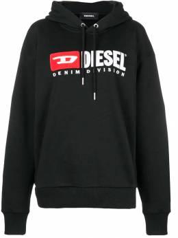 Diesel Denim Vision logo hoodie FDIVISIONFL0CATK