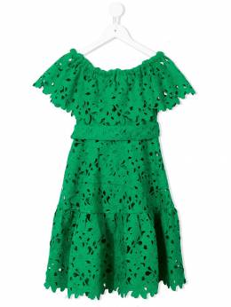Little Bambah вязаное крючком платье с открытыми плечами LBKDLC006