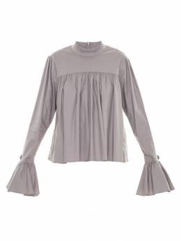 Framed ruffled blouse 233331