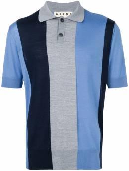 Marni полосатая футболка-поло POMGWHA13616295