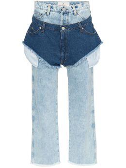 Natasha Zinko джинсы с шортами PF183078745