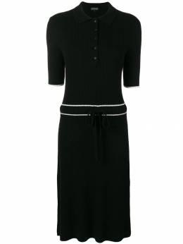 Cashmere In Love cashmere blend ribbed knit dress HAZEL