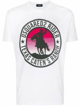 Dsquared2 футболка с логотипом S71GD0718S22427
