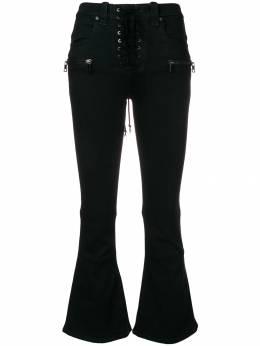 Unravel Project укороченные расклешенные джинсы UWYB007E181110081010