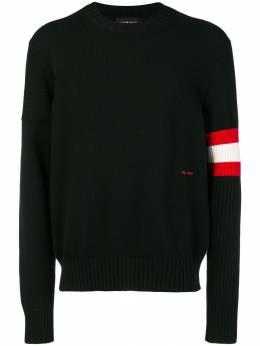 Calvin Klein 205W39nyc свитер с полосками на рукаве 83MKTA53K085