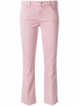 J Brand укороченные расклешенные джинсы 'Selena' средней посадки JB000651