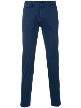 Briglia 1949 брюки-чинос узкого кроя BG0538530581136159