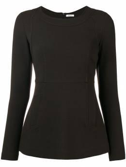 P.a.r.o.s.h. блузка по фигуре с длинными рукавами LACHIXD311010
